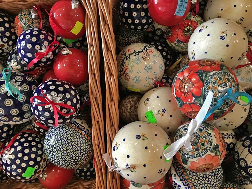 Bombki ceramiczne