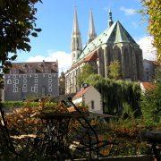 Zgorzelec - widok na Görlitz.