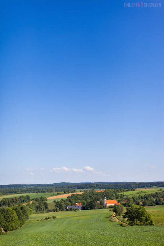 View from Kapliczna hill