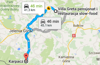 Karpacz visiting, directions, attractions