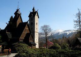 Kościółek Wang w Karpaczu.