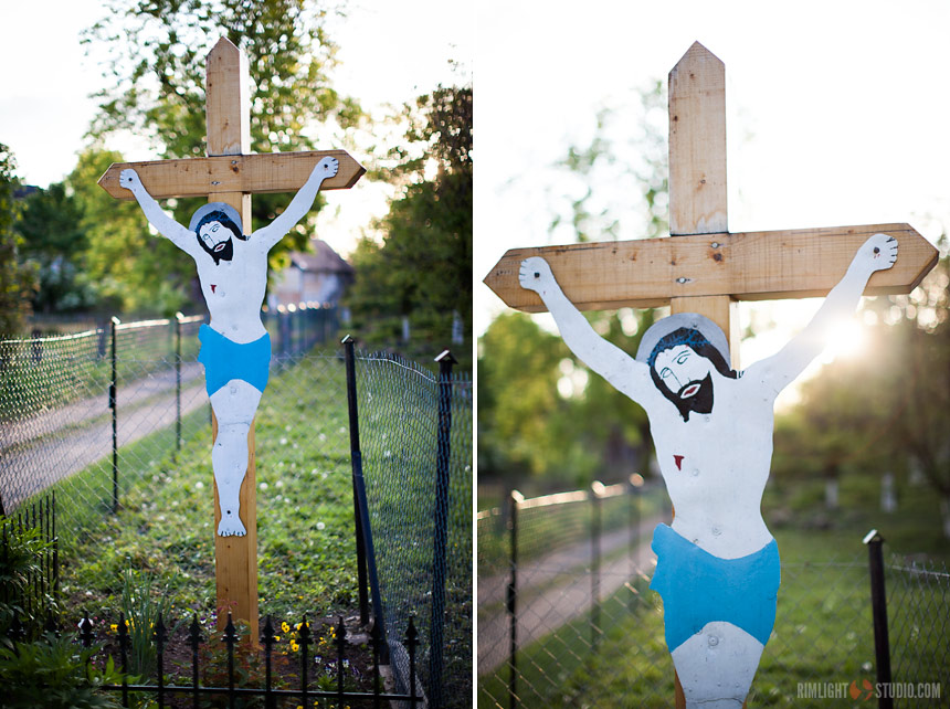 Krzyż przydrożny