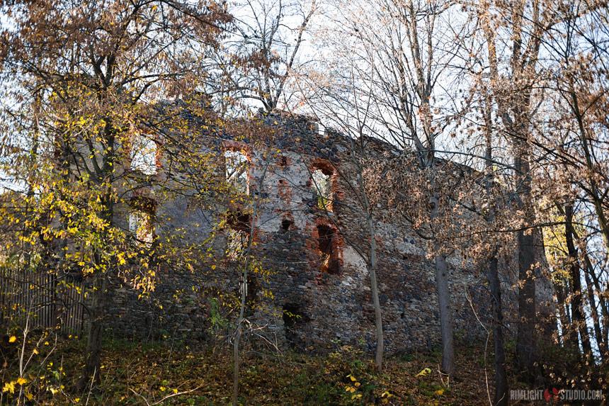 Zwiedzanie zamku Gryf