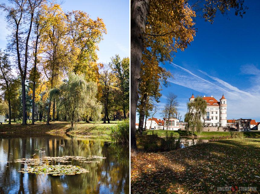 Park w Wojanowie - zwiedzanie