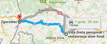 Görlitz Zgorzelec directions
