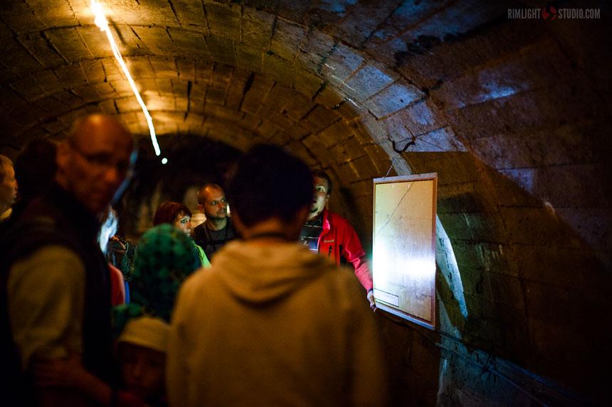 Zwiedzanie kopalni w Kowarach