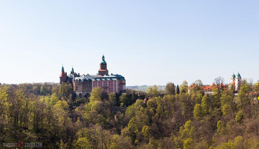Замок Ксёнж - Schloss Fuerstenstein