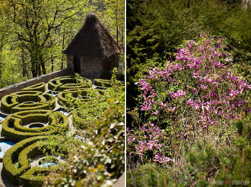 Ogrody w Zamku Książ
