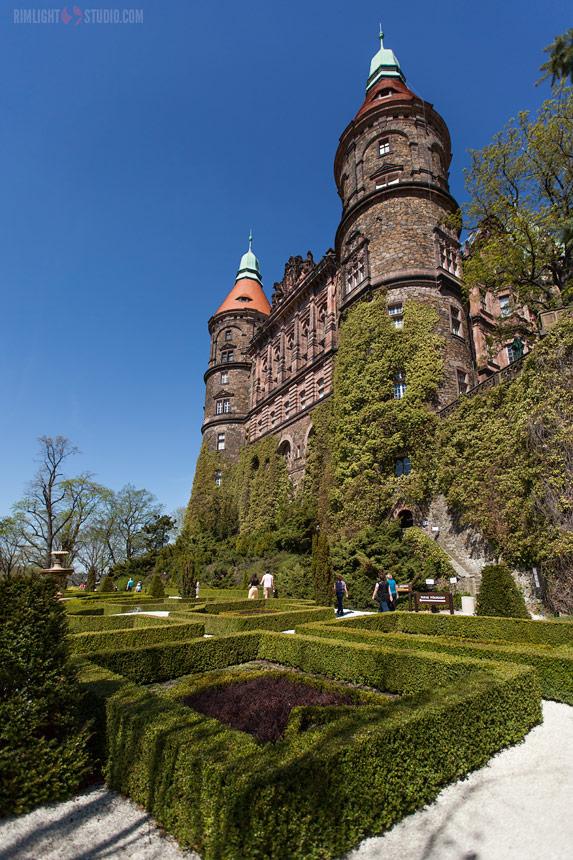 Экскурсия, Замок Ксёнж