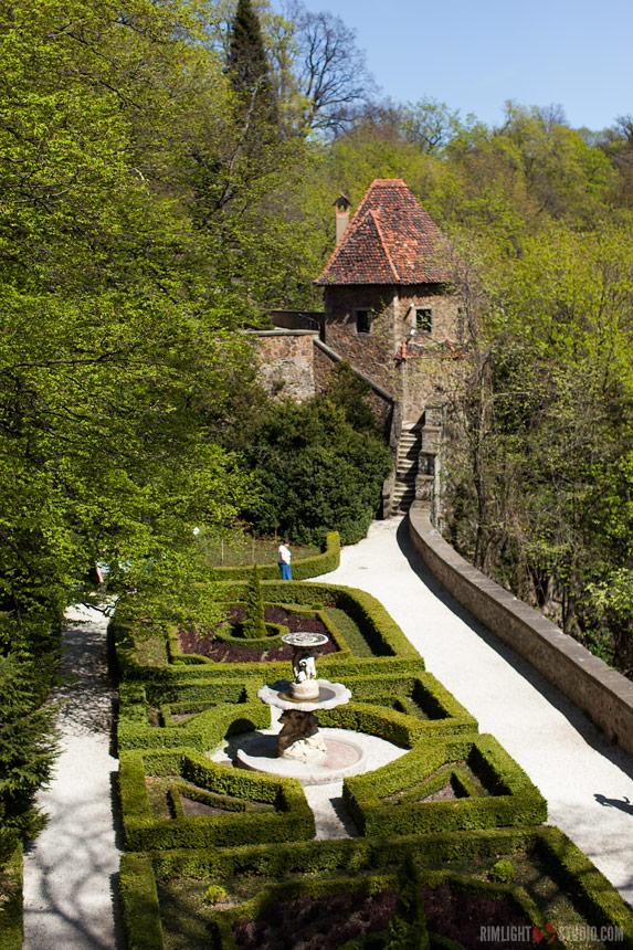 Zabytkowy ogród na Książu