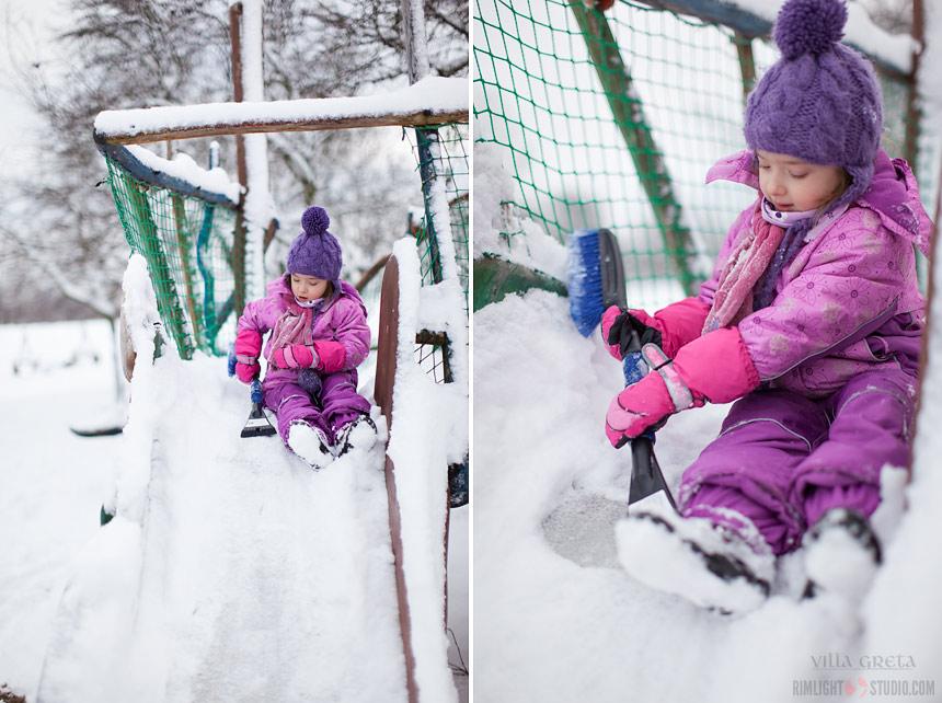 Co robić z dziećmi zimą