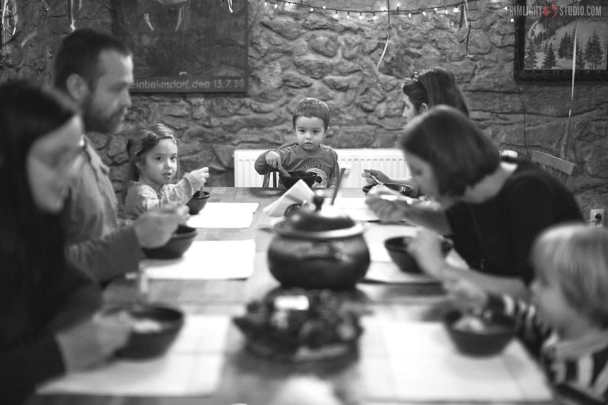 Obiad po sankach