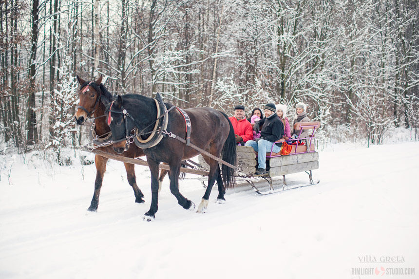 Where to go for sleigh ride in Katshava Mountains