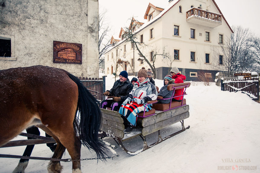 Where to go for a sleigh ride in Poland