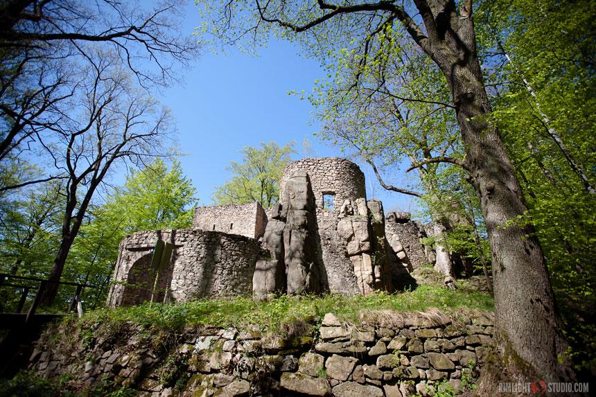 Bolczow Castle in Poland