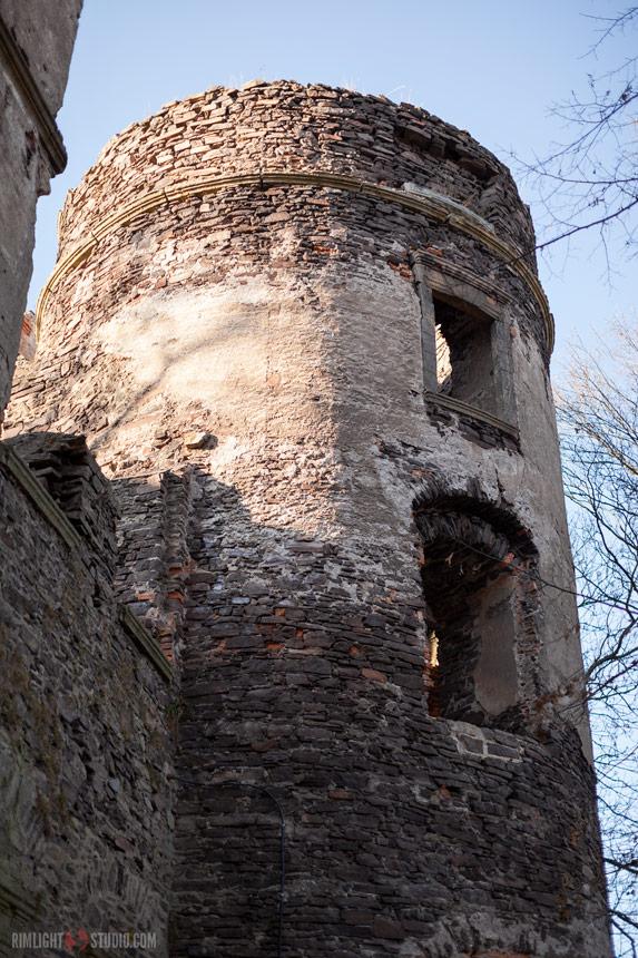 Zamek Świny - baszta