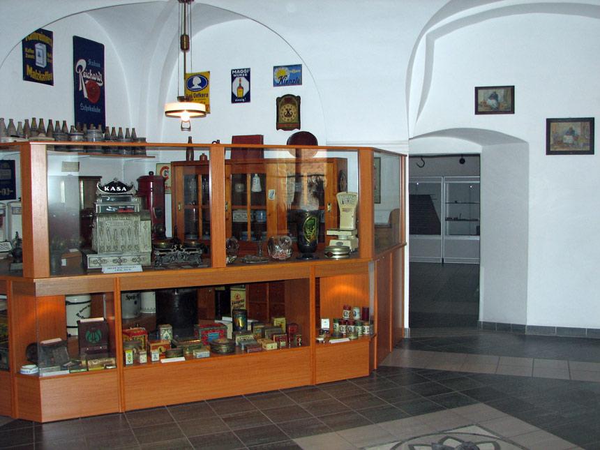 Имитация магазина колониальных товаров