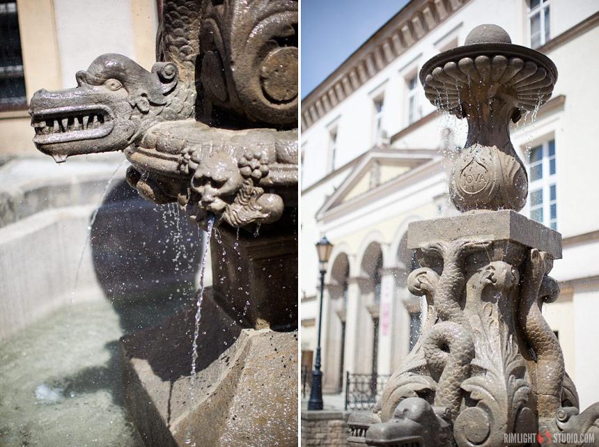 Złotoryja fontanna