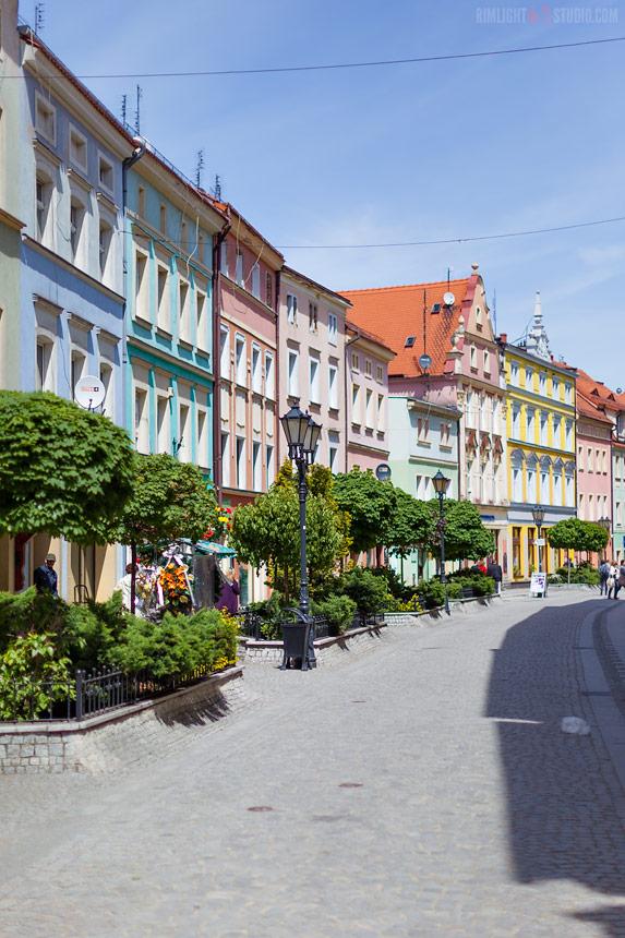 Zlotoryja - promenade Poland