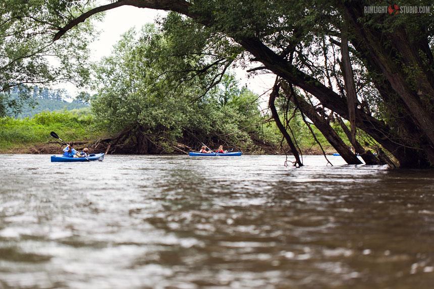 Байдарочный поход по реке Бубр