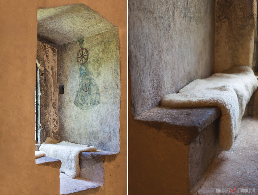 Największym atutem wieży są nietknięte zębem czasu średniowieczne wnętrza.
