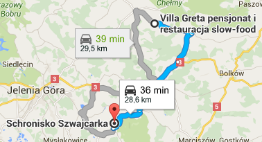 Szwajcarka, contact details, directions
