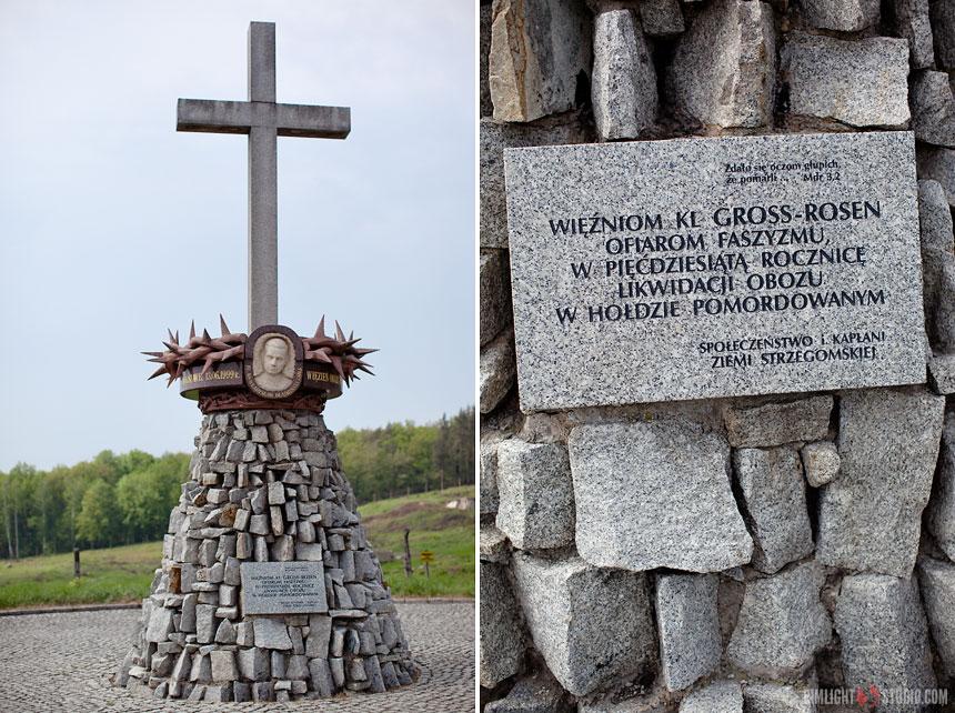 Посещение бывшего концентрационного лагеря