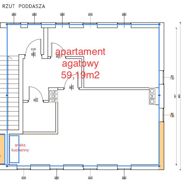 Apartament agatowy