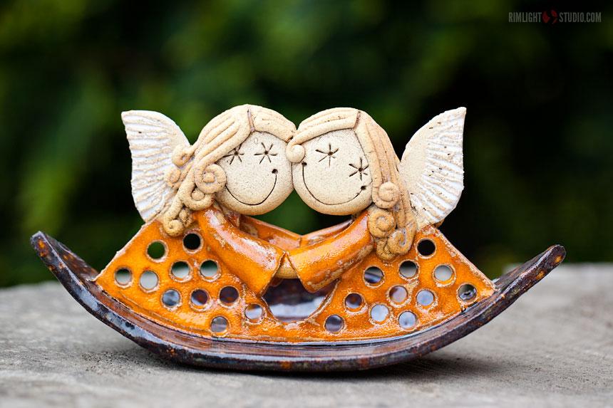 Керамические ангелы