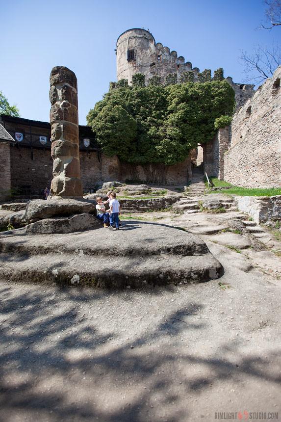 Zamek Chojnik - jak zwiedzać