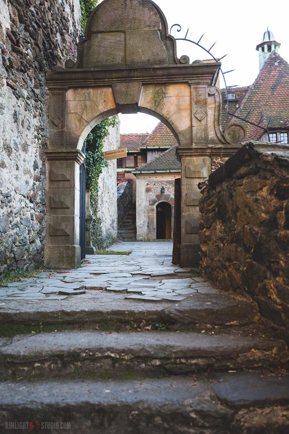 Burgen in Niederschlesien