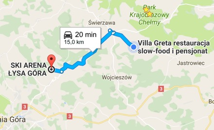 Dojazd Łysa Góra