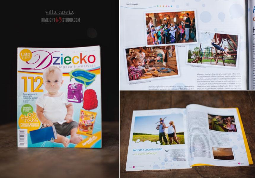 Magazyn Dziecko - najlepsza inwestycja