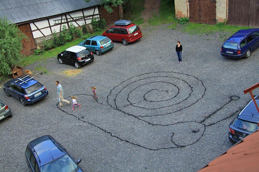 Parkplatz in Villi Greta