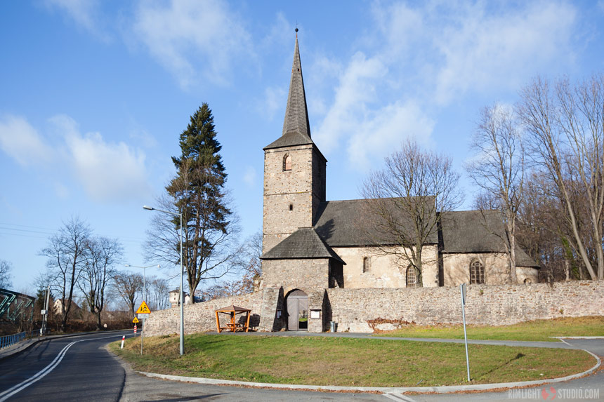 Romanesque church in Świerzawa
