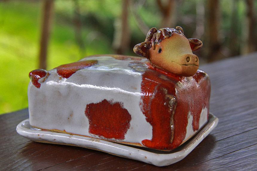 Maselniczka ceramiczna