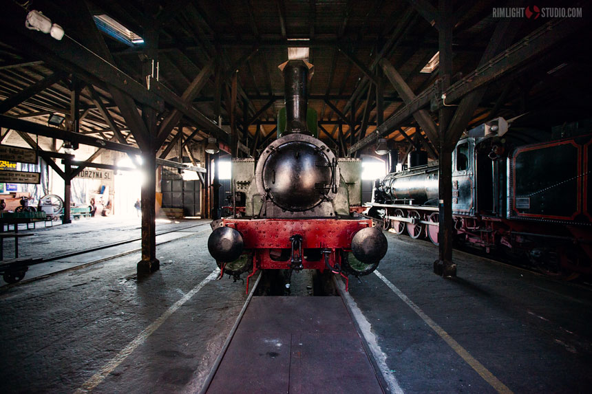 Museum steam locomotives Poland