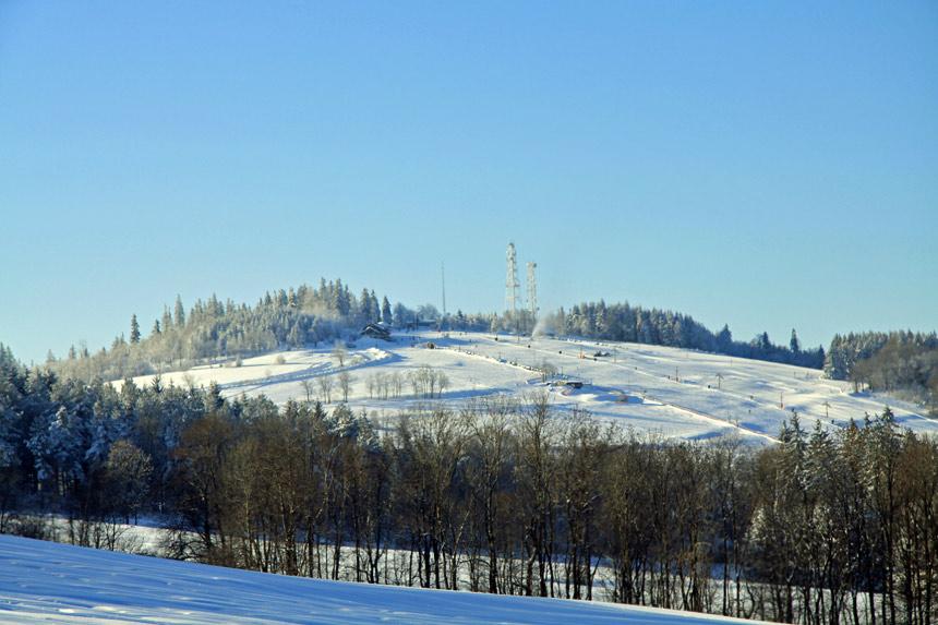 Nauka jazdy na nartach w Sudetach
