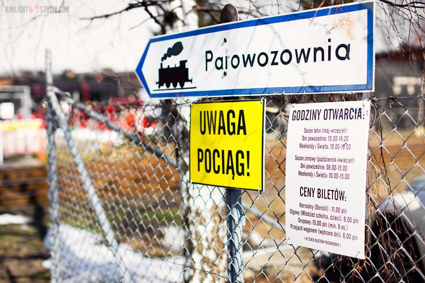 Steam locomotive depot Jaworzyna