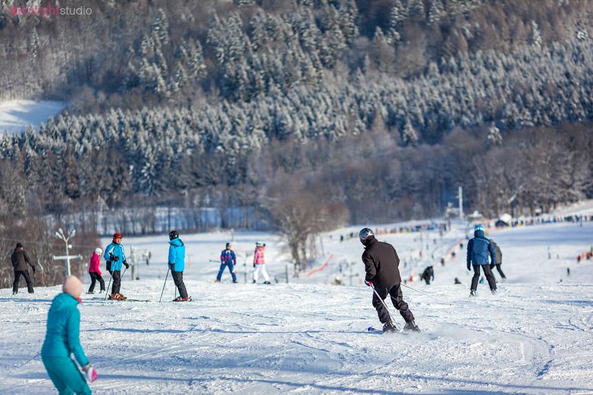Nauka jazdy na nartach - Ski Arena Łysa Góra