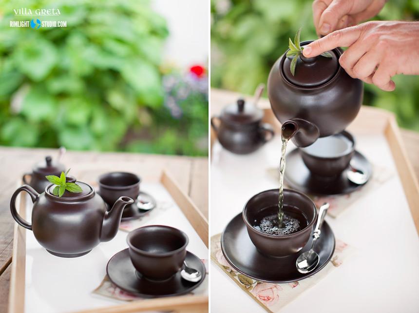Herbata ziołowa z naszych ziół.