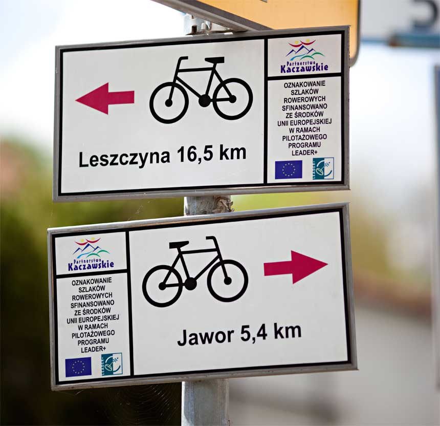 Bike trails Lower Silesia