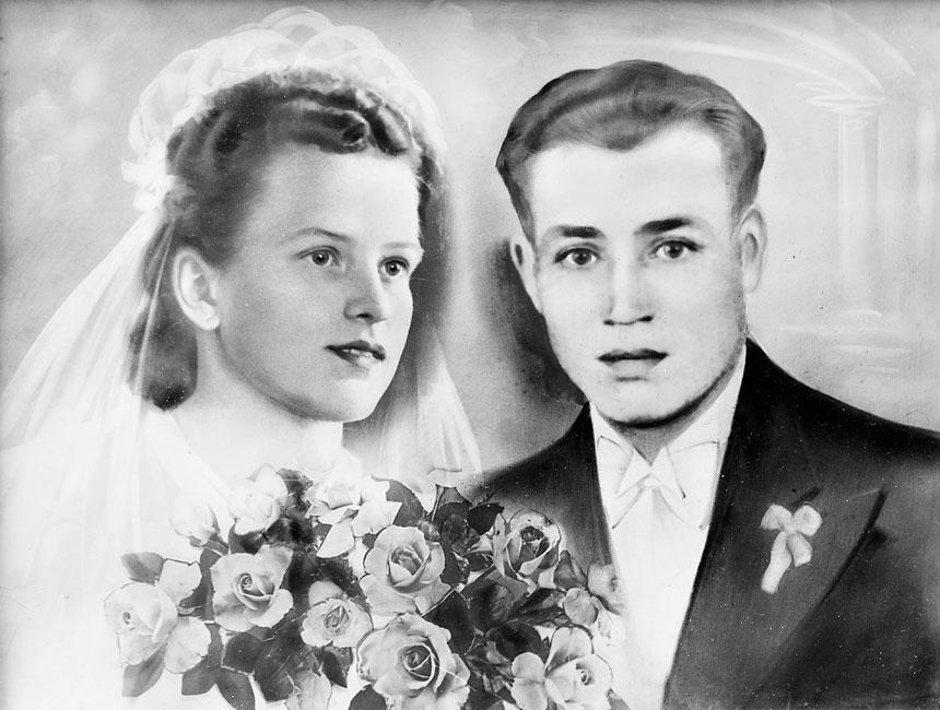 Бабушка и дедушка хозяев Виллы Грета