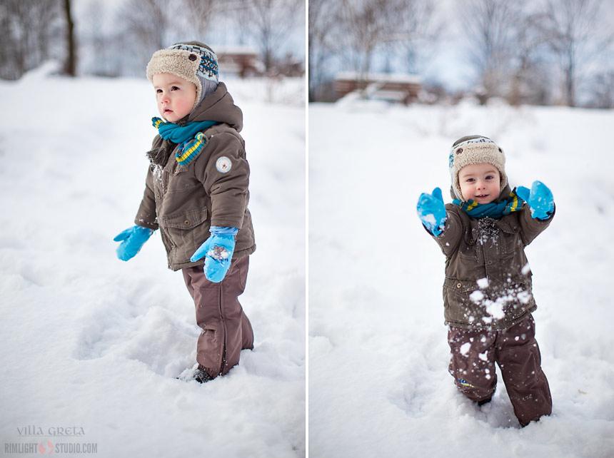Z dziećmi zimą