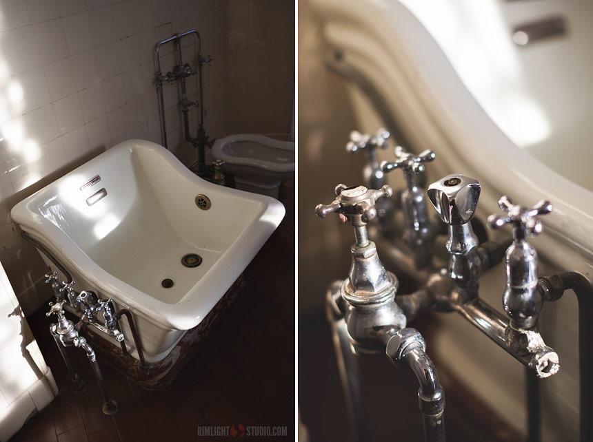 Alte Sanitärtechnik