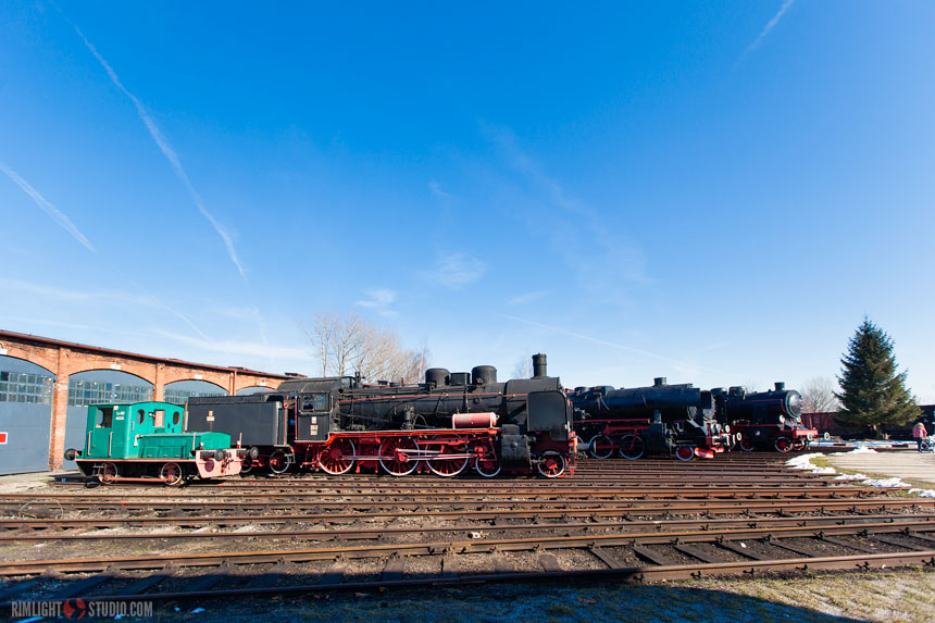Historical steam locomotives