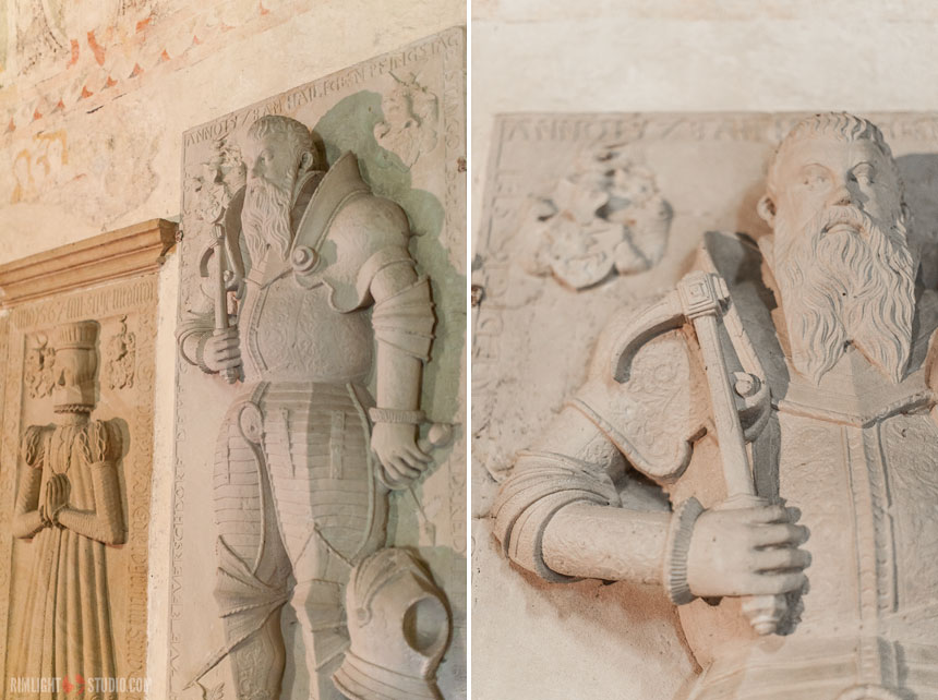 Надгробные плиты эпохи ренессанса