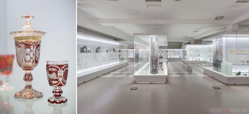 Художественное стекло в Музее Карконошей
