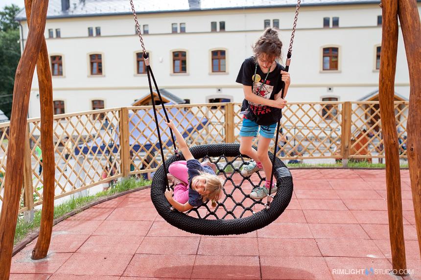 Plac zabaw w Sudeckiej Zagrodzie