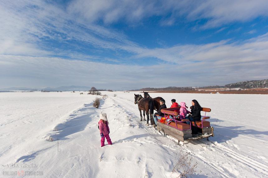 Ferie zimowe z dziećmi